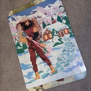 Matel Barbie 100 piece 1991 puzzle